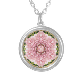 Mandalas from the Heart of Freedom 13 Gifts Silver Plated Necklace