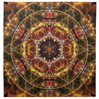 Mandalas from the Heart of Freedom 17 Gifts Napkin