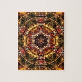 Mandalas from the Heart of Freedom 17 Gifts Puzzle