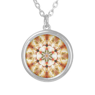 Mandalas from the Heart of Freedom 20 Gifts Silver Plated Necklace