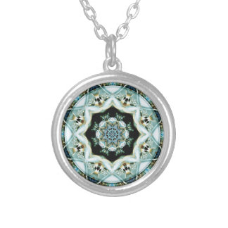 Mandalas from the Heart of Freedom 21 Gifts Silver Plated Necklace