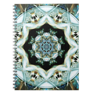 Mandalas from the Heart of Freedom 21 Gifts Spiral Notebook
