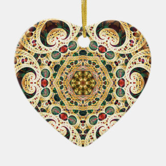 Mandalas from the Heart of Freedom 22 Gifts Ceramic Ornament