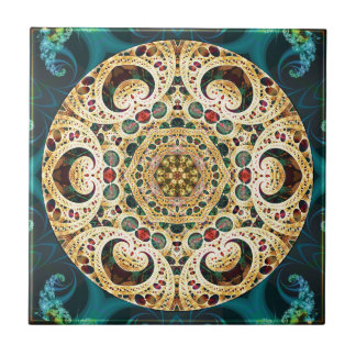 Mandalas from the Heart of Freedom 22 Gifts Ceramic Tile