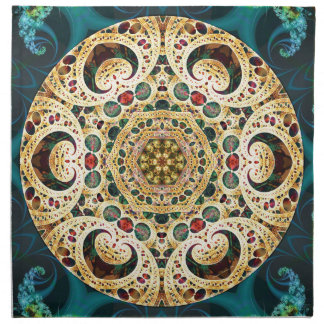 Mandalas from the Heart of Freedom 22 Gifts Napkin