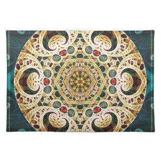Mandalas from the Heart of Freedom 22 Gifts Placemat