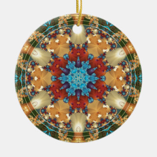 Mandalas from the Heart of Freedom 23 Gifts Ceramic Ornament