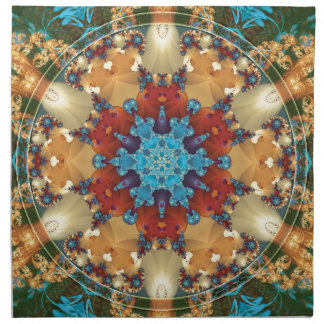 Mandalas from the Heart of Freedom 23 Gifts Napkin