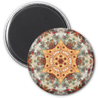 Mandalas from the Heart of Freedom 24 Gifts 2 Inch Round Magnet