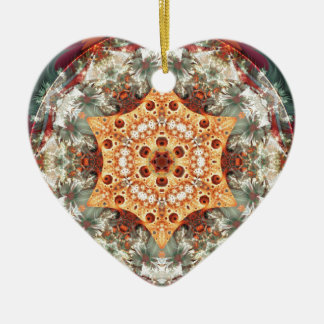 Mandalas from the Heart of Freedom 24 Gifts Ceramic Ornament