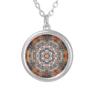 Mandalas from the Heart of Freedom 25 Gifts Silver Plated Necklace