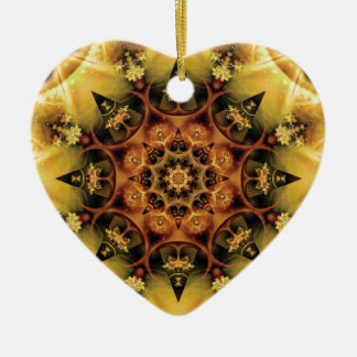 Mandalas from the Heart of Freedom 28 Gifts Ceramic Ornament