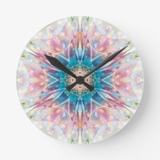 Mandalas from the Heart of Freedom 30 Gifts Round Clock
