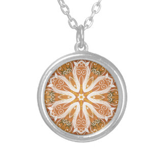 Mandalas from the Heart of Freedom 6 Gifts Silver Plated Necklace