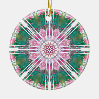 Mandalas from the Heart of Freedom 7 Gifts Ceramic Ornament