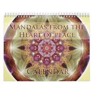 Mandalas from the Heart of Peace 2015 Calendar