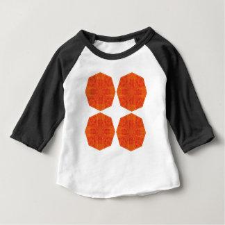 Mandalas : Nostalgia edition Orange Baby T-Shirt