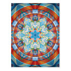Mandalas of Forgiveness and Release 19 Poster Postcard