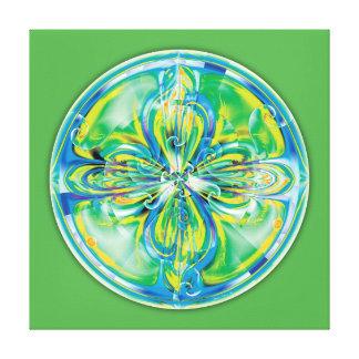 Mandalas of Healing & Awakening, No.6, Canvas