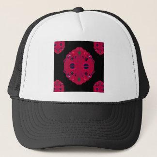 Mandalas wild Red ethno Trucker Hat