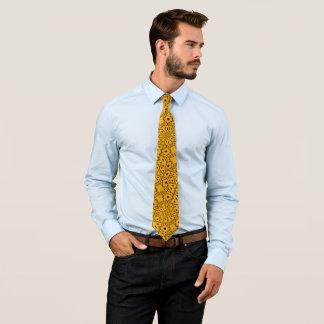 Mandarin Billy Badass Woven Paisley Designer Tie
