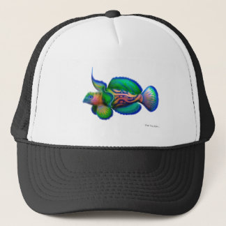 Mandarin Dragonet Fish Trucker Hat
