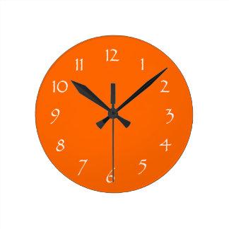 Mandarin Dream Round Clock