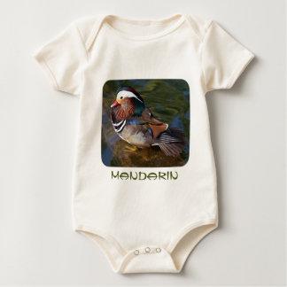 Mandarin Duck Baby Bodysuit