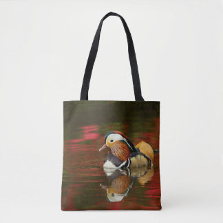 Mandarin Duck Bird Tote Bag