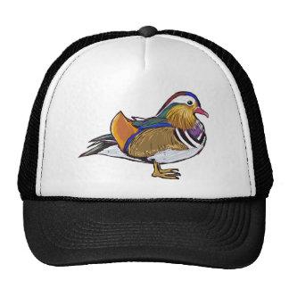 Mandarin Duck Sketch Trucker Hat