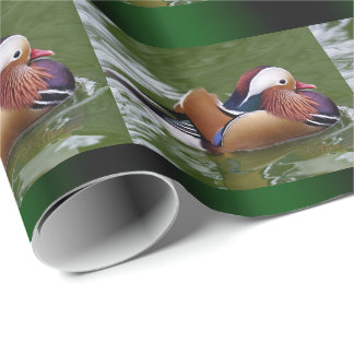 Mandarin Duck Wrapping Paper