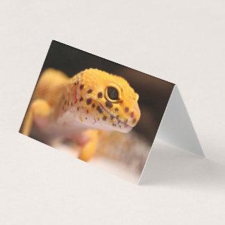 Mandarin Leopard Gecko Greeting Card
