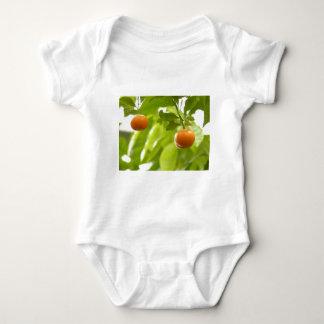 Mandarin Tree and Fruits Baby Bodysuit
