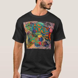 Mandaring Fish art T-Shirt