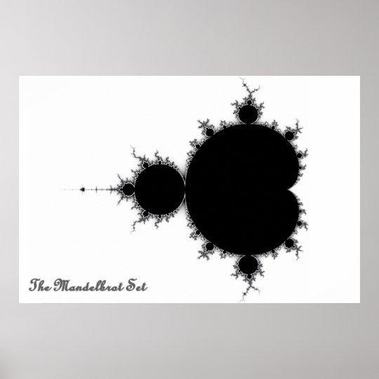 Mandelbrot Set Poster