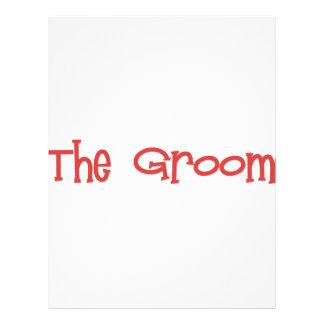 Mandi-Groom-Red Letterhead Design