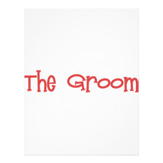 Mandi-Groom-Red Personalized Letterhead