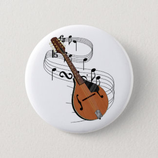 Mandolin 2 Inch Round Button