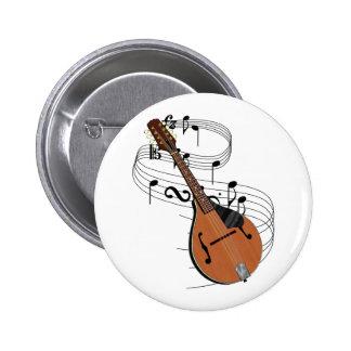 Mandolin 2 Inch Round Button
