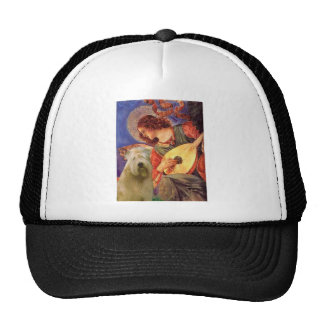 Mandolin Angel - Wheaten Terrier 2C Trucker Hat