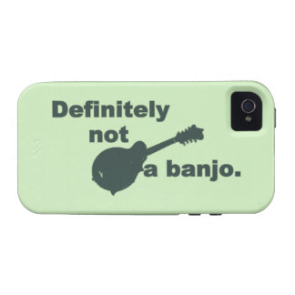 Mandolin -- Definitely Not A Banjo Case-Mate iPhone 4 Cover