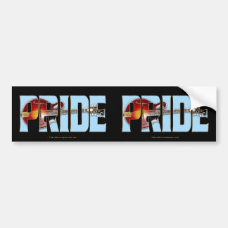 Mandolin F-5 PRIDE Bumper Stickers