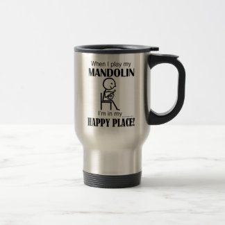Mandolin Happy Place Travel Mug