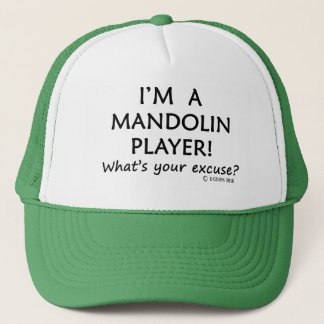 Mandolin Player Excuse Trucker Hat