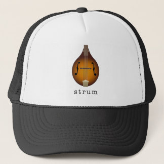 mandolin trucker hat