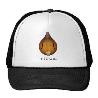 mandolin trucker hat