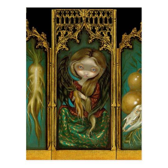 """Mandragora Triptych"" Postcard"