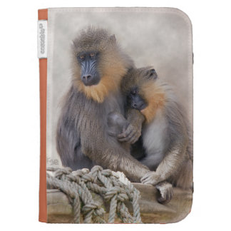 Mandrill and Young Kindle Case
