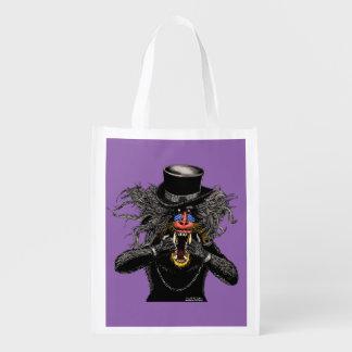Mandrill Madness cokes Reusable Grocery Bag