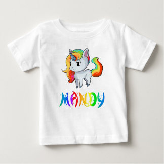Mandy Unicorn Baby T-Shirt